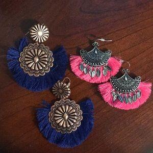 Jewelry - Fringe Earrings